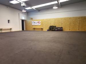 Unser Trainingsraum in der Neuen Pop