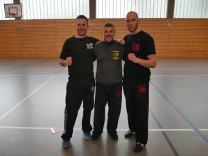 Fight a Fighter Seminar, Mainz, 19.03.2017